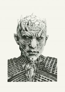 The Night King Game of Thrones Print