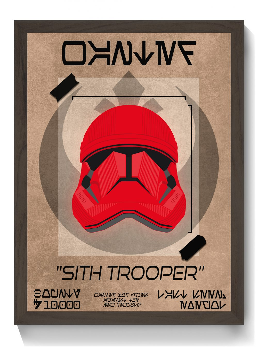 Sith Trooper Wanted Poster